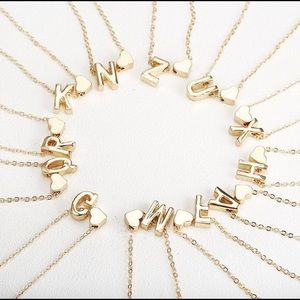 Jewelry - Letter K Initial Necklace